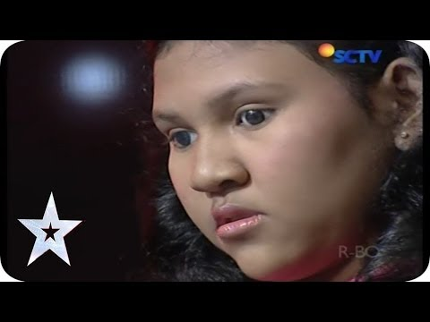 Claudia Fritska Makes Everyone Cry by Her Voice - Audition 2 - Indonesia's Got Talent