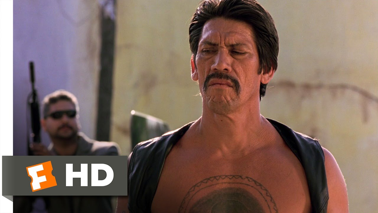 Desperado (2/8) Movie CLIP - Throwing Knives (1995) HD ... Antonio Banderas Knives