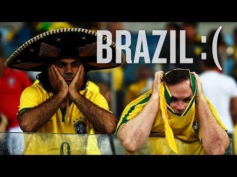 Watch Brazilian fans get progressivelysadder (#LOOKIT)