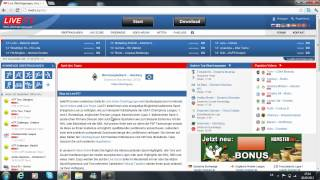 Fussball LIVE Im Internet Gucken| CL-League,Bundesliga