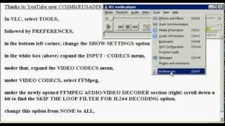How To Configure VLC Media Player So That It Doesn't Lock