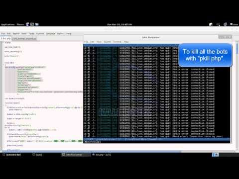 Video Demo #2 (Botnets of the Web - How to Hijack One)