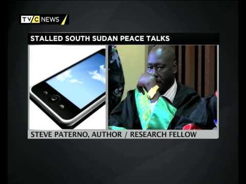 Steve Paterno speaks on Stalled South Sudan Peace Talk
