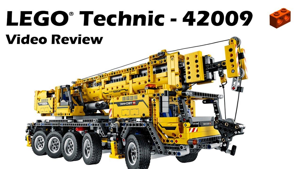 lego technic 42009 mobile crane mk ii review youtube. Black Bedroom Furniture Sets. Home Design Ideas