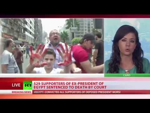 Egypt Court- 529 Muslim Brotherhood to Death
