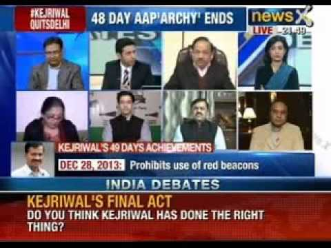 India Debates : Has Kejriwal betrayed the faith of the Delhi voter ?