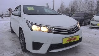 2014 Toyota Corolla. Start Up, Engine, and In Depth Tour.. MegaRetr
