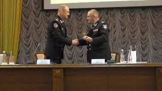 Заступник Голови Національної поліції України Віталій Невгад поспілкувався з курсантами університету