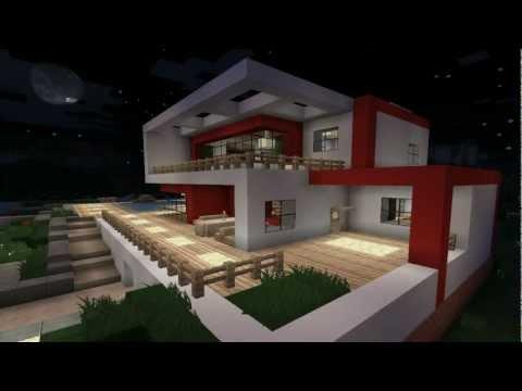 Minecraft modern house #1 (Modernes Haus) [HD]