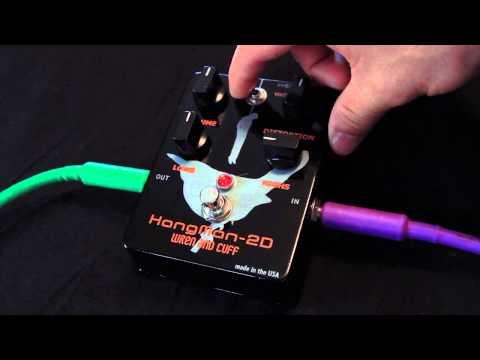 Wren and Cuff Hangman 2D Distortion Pedal