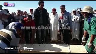 بالفيديو:لحظة تشييع جثامين فاجعة الصويرة بحضور والي جهة مراكش آسفي و عدد كبير من الشخصيات   |   خارج البلاطو