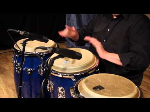 Eric Piza on the Toca Percussion Custom Deluxe Wood Drums
