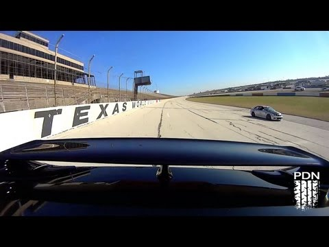 GTR and BMW battling at Texas World Speedway - TX2K13