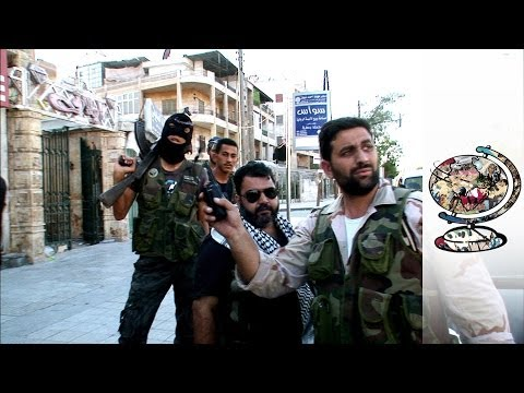 The frontline civilians fighting the Syrian civil war