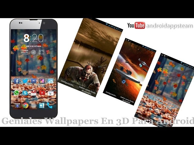 Geniales Wallpapers En 3D Para Android [iOS7 Parallax True 3D Depth]