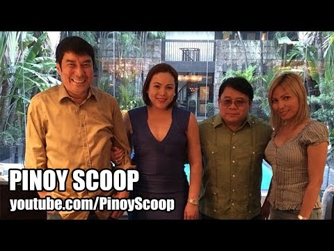 Claudine Barretto And Raffy Tulfo Seen Having A Nice Time Together