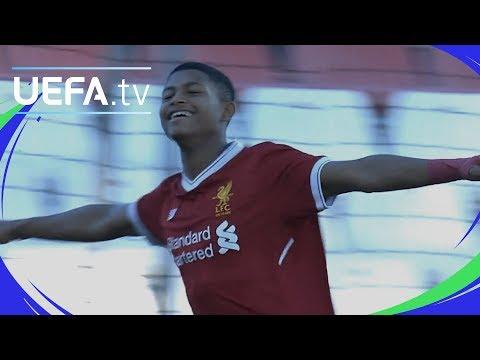 UEFA Youth League highlights: Sevilla 0-4 Liverpool