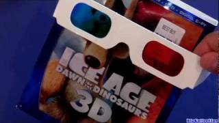 Ice Age 3D Blu-ray Unboxing Review Dawn Of The Dinosaurs