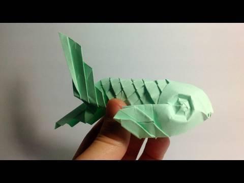 Origami fish jo nakashima davor vinko youtube for Origami koi fish tutorial