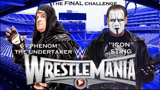 The Undertaker vs Sting [WrestleMania 31 Promo OFFICIAL] - The Final Challenge
