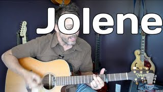How To Play Jolene By Dolly Parton White Stripes- Guitar