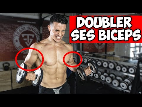 Doubler ses biceps avec 5 exercices !