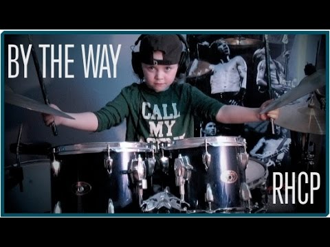 MILANA - RHCP - BY THE WAY, 6 year old female drummer