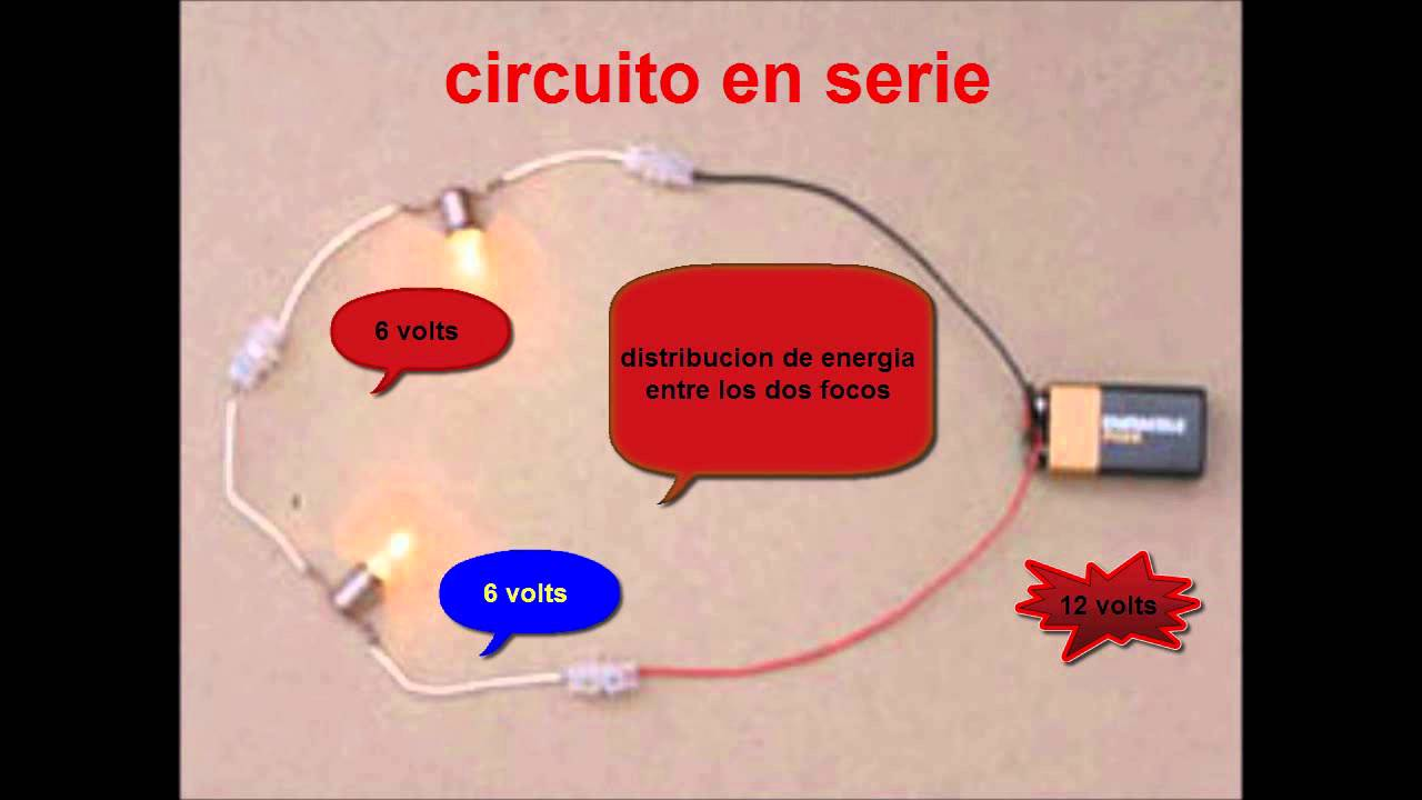 Circuito En Serie Y Paralelo : Circuitos electricos paralelo serie mixtos youtube