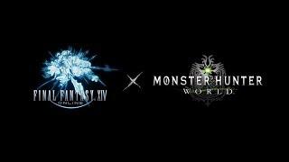 Final Fantasy XIV - Monster Hunter: World Collaboration Teaser Trailer