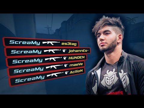 CSGO. Scream AIM CFG 2015.