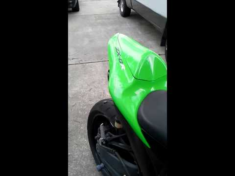 07 ZX6R Exhaust Homemade