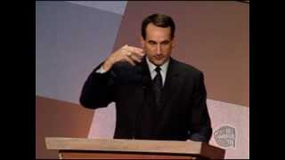 "Michael ""Mike"" Krzyzewski's Basketball Hall of Fame Enshrinement Speech"