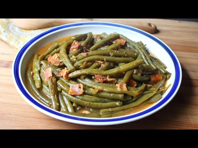 Slow-Cooked Green Beans - Amazing Southern-Style Green Beans