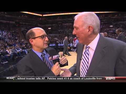 Jeff Van Gundy interviews Gregg Popovich