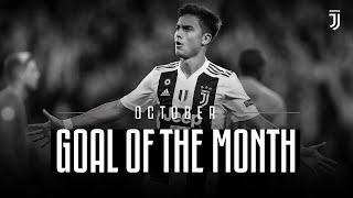 Juventus Goal of the Month | October 2018