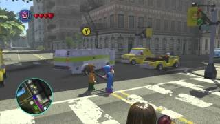 LEGO: Marvel Superheroes Classic Hawkeye Gameplay
