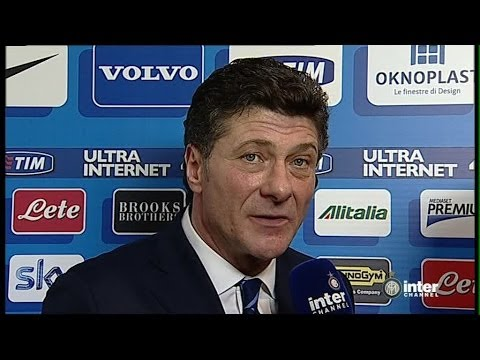 INTERVISTA WALTER MAZZARRI POST INTER-SASSUOLO