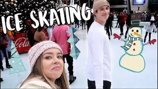 ICE SKATING! VLOGMAS DAY 2!