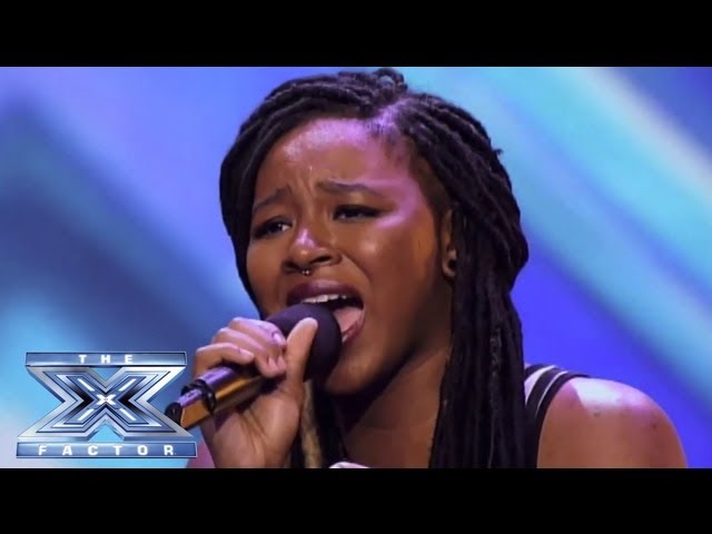 Roxxy Montana - Girl Group from Detroit Kills It! - THE X FACTOR USA 2013