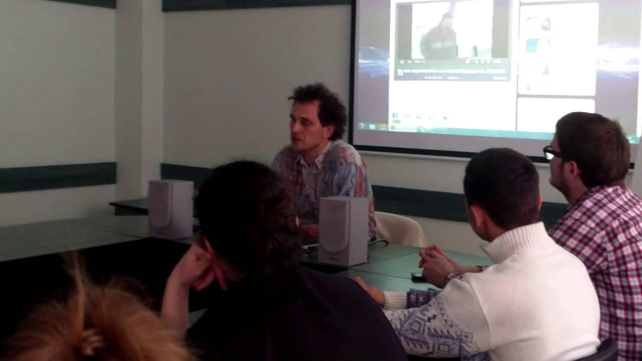 Scoala Curajului la Soroca, discuții cu Oleg Brega