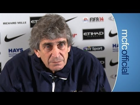 PELLEGRINI ON TRANSFERS: City v Chelsea Press Conference Part 1