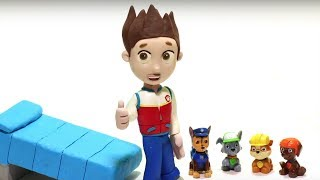 Ryder needs Paw patrol friends 💕 Play Doh Stop motion videos for children