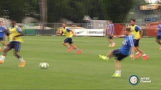 PRIMO ALLENAMENTO INTER STAGIONE 2015-16