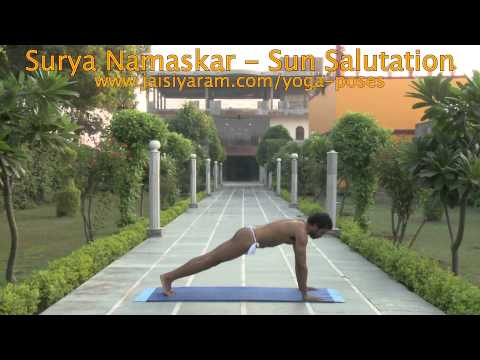 Surya Namaskar - Sun Salutation by Yashendu Goswami