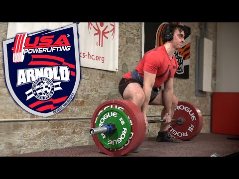 Deadlifting 650 LBS For Reps | Arnold Classic Prep FINISHED