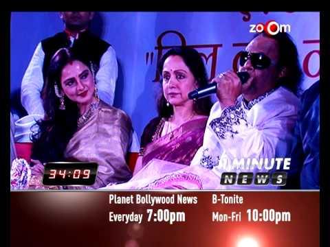 Bollywood News in 1 minute 04/03/14 | Madhuri Dixit, Rekha, Hema