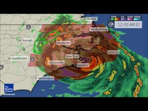 Hurricane Arthur Makes First Landfall in North Carolina