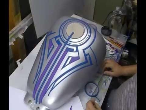 Atelier Meijer - Suzuki Marauder 800 airbrush part 1