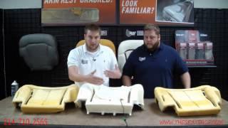 03-06 Chevrolet GMC Cadillac LH Driver Seat Bottom Lower heater ELEMENT pad OEM