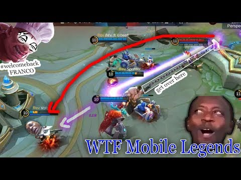 WTF Mobile Legends Funny Moments | #welcomebackFRANCO! 300IQ Gameplay